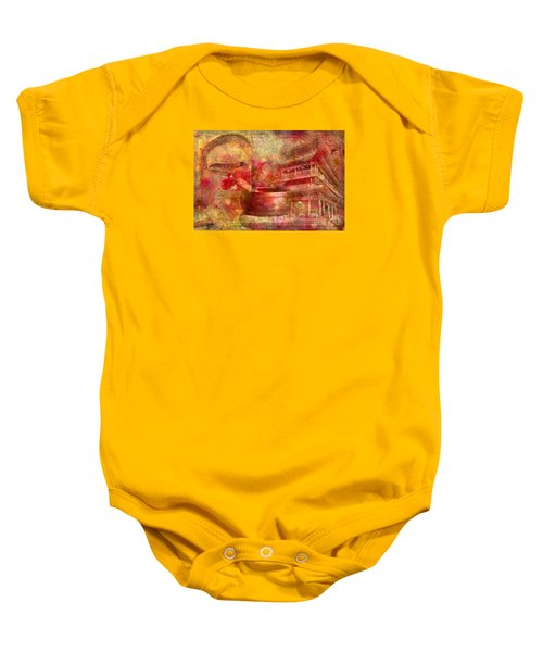 Meditative Montage 2015 Baby Onesie