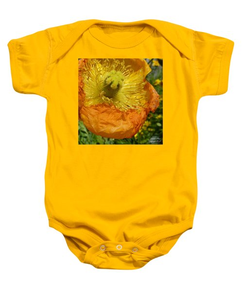 Mellow Yellow - Signed Baby Onesie