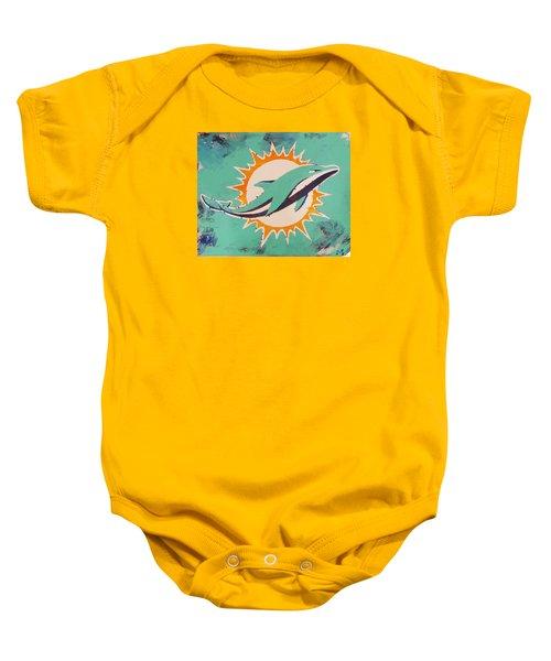 Miami Dolphins Baby Onesie