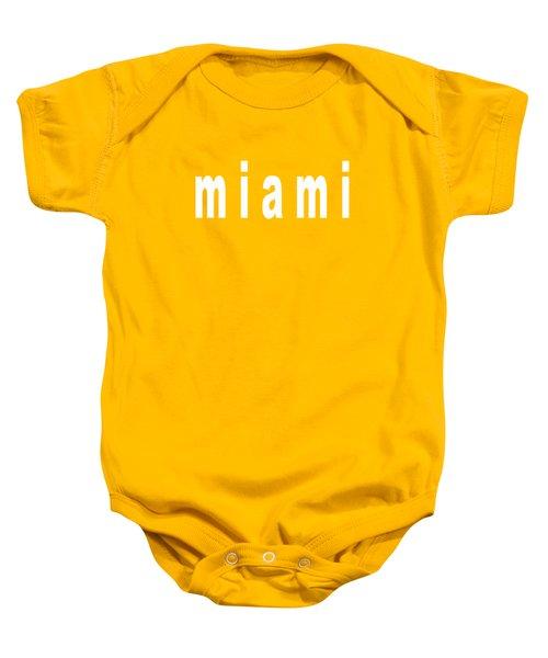 Miami Baby Onesie