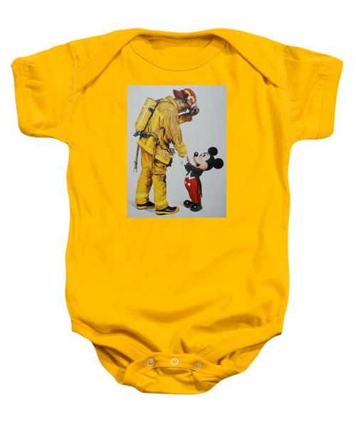 Mickey And The Bravest Baby Onesie