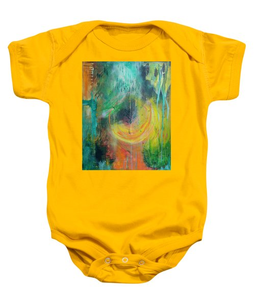 Moment In Time Baby Onesie