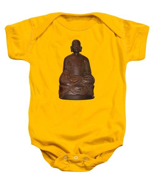 Monk Seated Baby Onesie