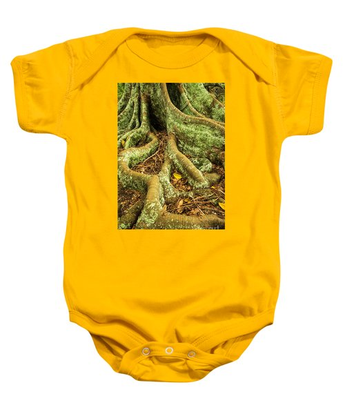Baby Onesie featuring the photograph Moreton Bay Fig by Werner Padarin
