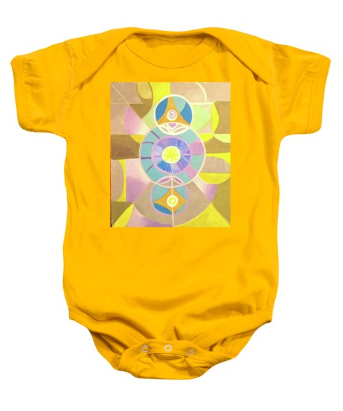 Morning Glory Geometrica Baby Onesie