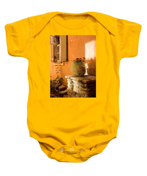 Morning Light Tuscany Baby Onesie