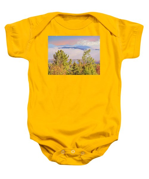 Morning Mountain View Northern New Hampshire. Baby Onesie