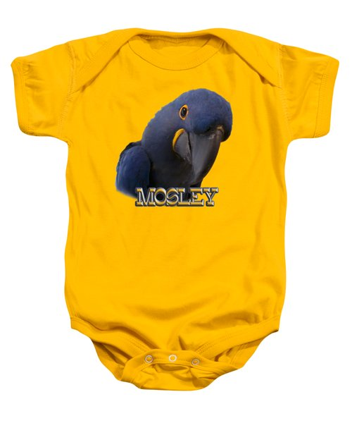 Mosley Baby Onesie by Zazu's House Parrot Sanctuary