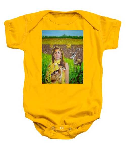 Mother Goddess Ker - Lammas Baby Onesie