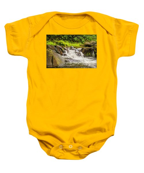 Mountain Stream Baby Onesie