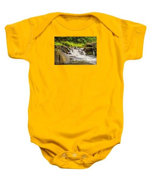 Mountain Stream Baby Onesie