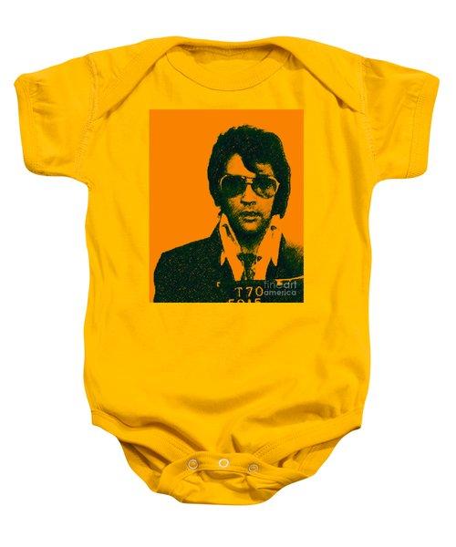 Mugshot Elvis Presley Baby Onesie