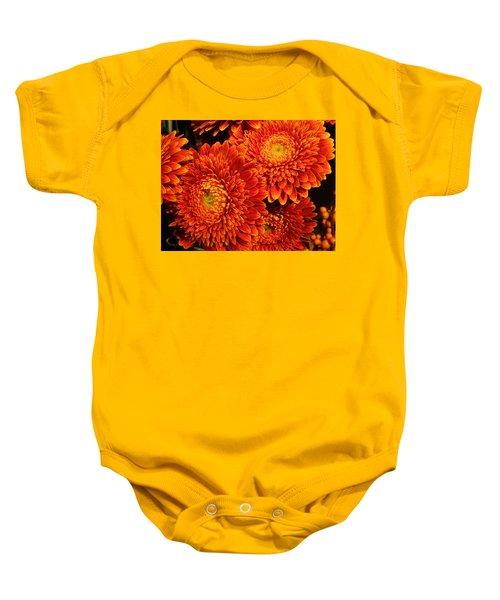 Mums In Flames Baby Onesie