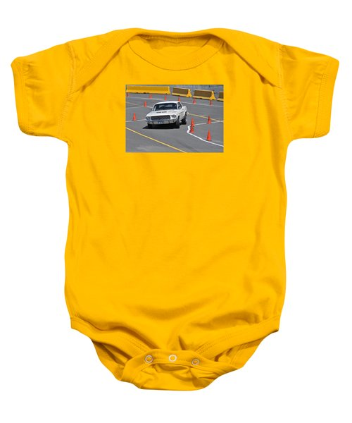 d8ffcf4cbc Mustang On The Run Baby Onesie