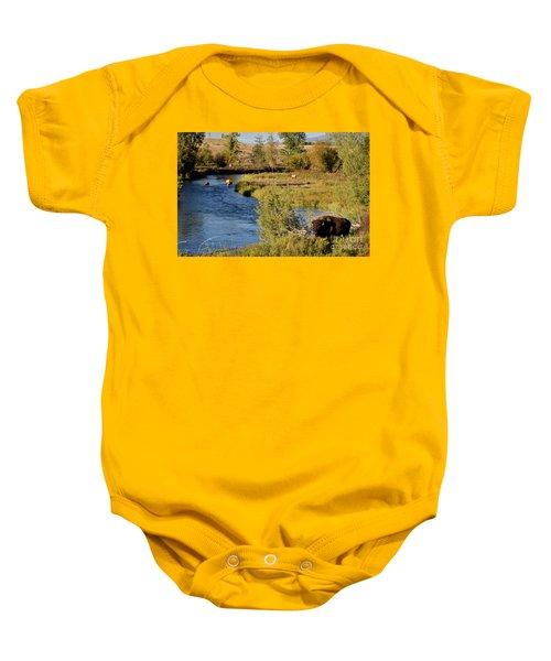 National Bison Range Baby Onesie