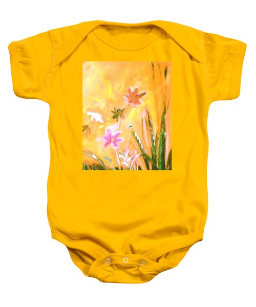 New Daisies Baby Onesie by Winsome Gunning
