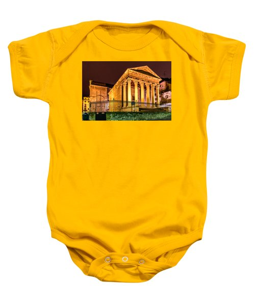 Night At The Roman Temple Baby Onesie