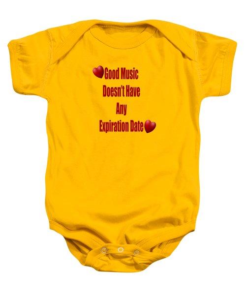 No Expiration Date Baby Onesie