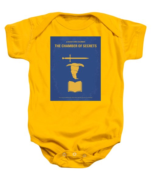 No101-2 My Hp - Chamber Of Secrets Minimal Movie Poster Baby Onesie