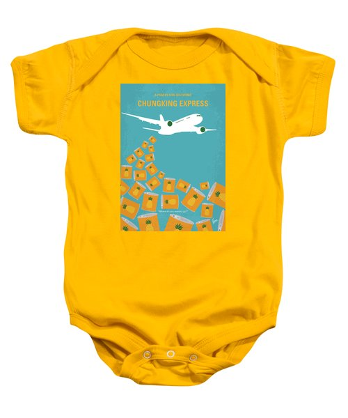 No835 My Chungking Express Minimal Movie Poster Baby Onesie