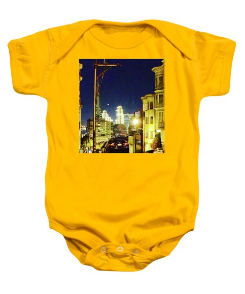 Nob Hill Electric Baby Onesie