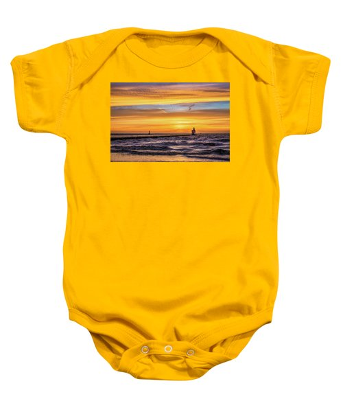 Baby Onesie featuring the photograph October Surprise by Bill Pevlor