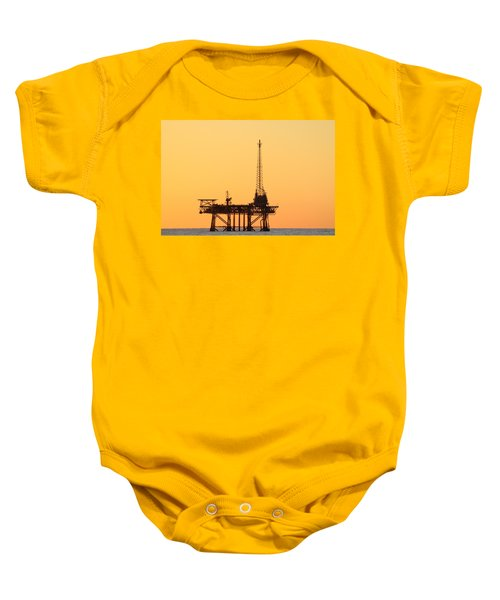 Offshore Oil And Gas Platform  Baby Onesie