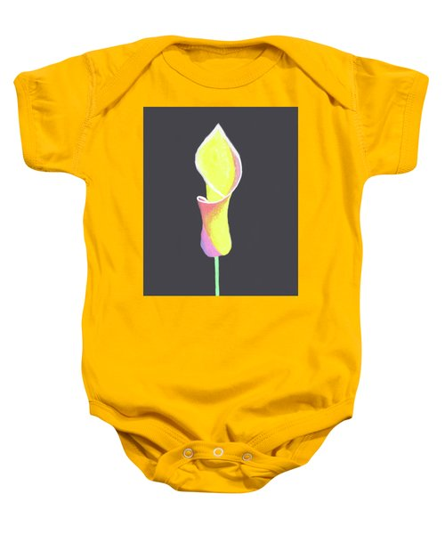 Oh Lily Baby Onesie by Cyrionna The Cyerial Artist