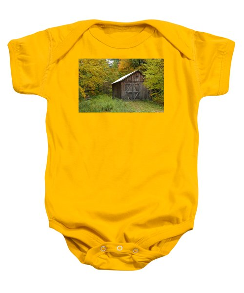 Old Barn New England Baby Onesie
