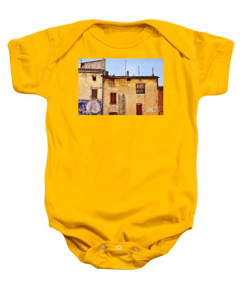 Old Walls In Provence Baby Onesie
