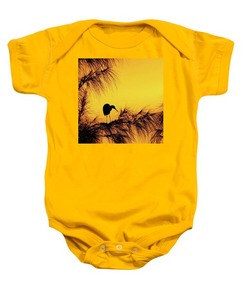One Of A Series Taken At Mahoe Bay Baby Onesie