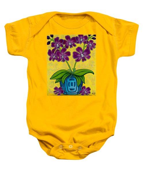 Orchid Delight Baby Onesie