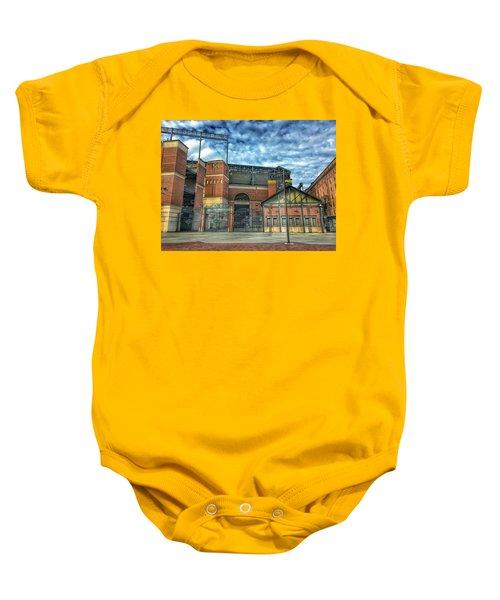 Oriole Park At Camden Yards Gate Baby Onesie