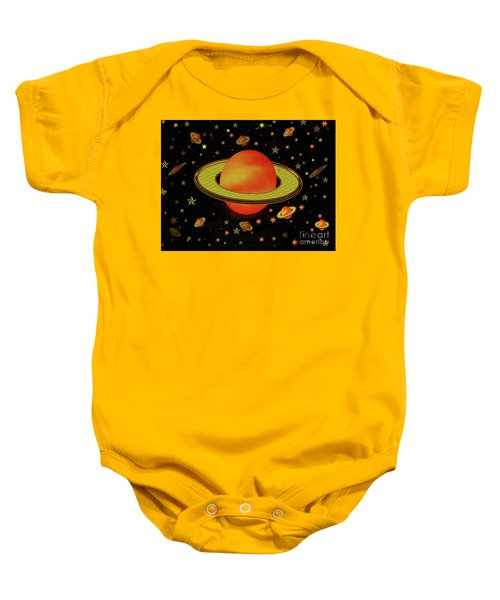 Outer Harvest Moons Baby Onesie
