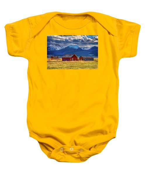 Outliers Baby Onesie