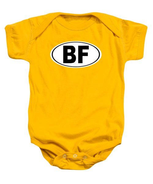Oval Bf Beaver Falls Pennsylvania Home Pride Baby Onesie by Keith Webber Jr