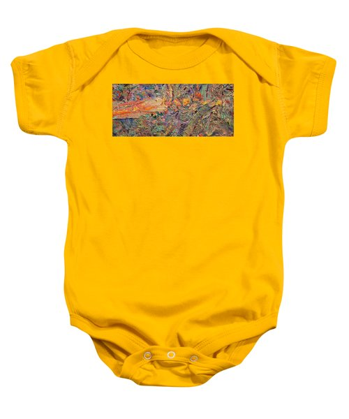 Paint Number 34 Baby Onesie