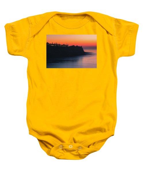 Palos Verdes Coast After Sunset Baby Onesie