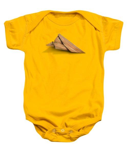 Paper Airplanes Of Wood 2 Baby Onesie