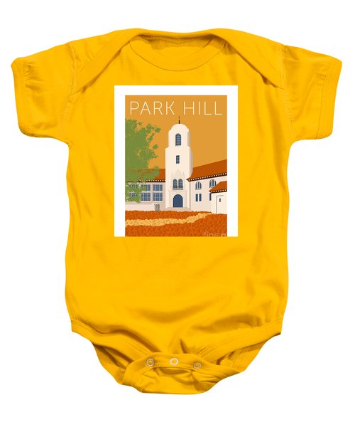 Park Hill Gold Baby Onesie