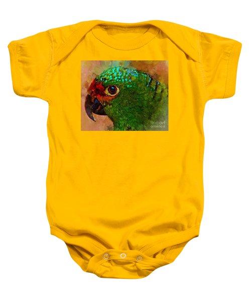 Parrote Baby Onesie