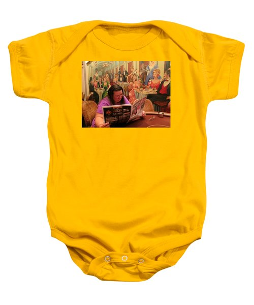 Pattie Poker Baby Onesie