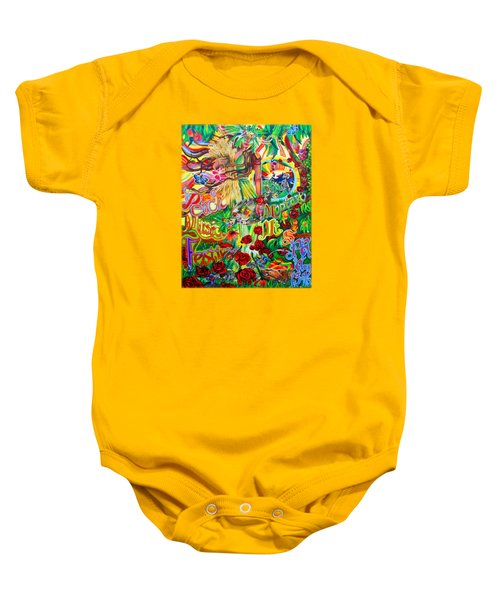 Peach Music Festival 2015 Baby Onesie by Kevin J Cooper Artwork