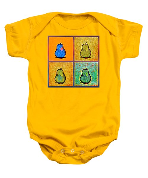 Pears And More Pears Baby Onesie