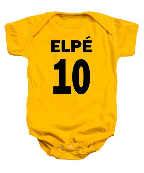 Pele 10 Baby Onesie by Charlie Ross