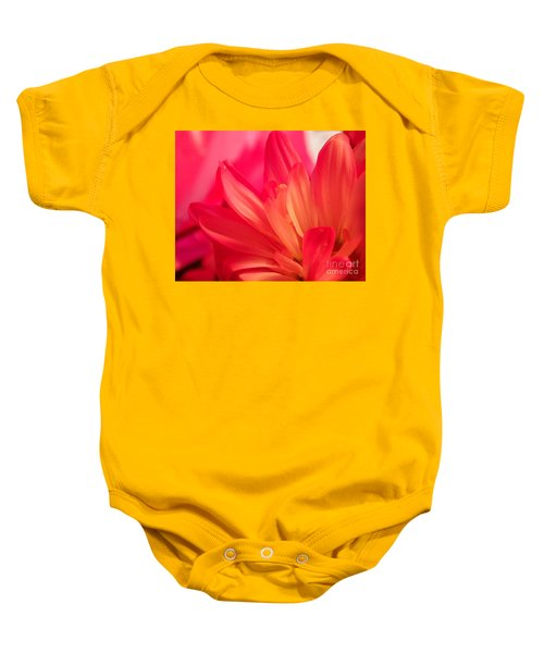 Petal Abstract Baby Onesie