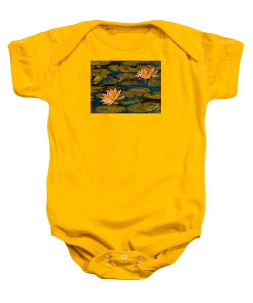 Picnic By The Pond Baby Onesie