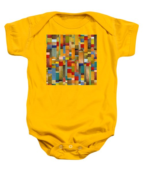 Pieces Parts Baby Onesie