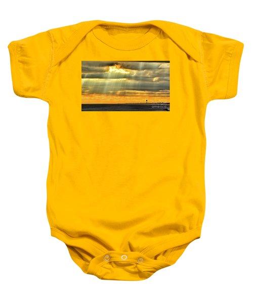 Pier Rays Baby Onesie
