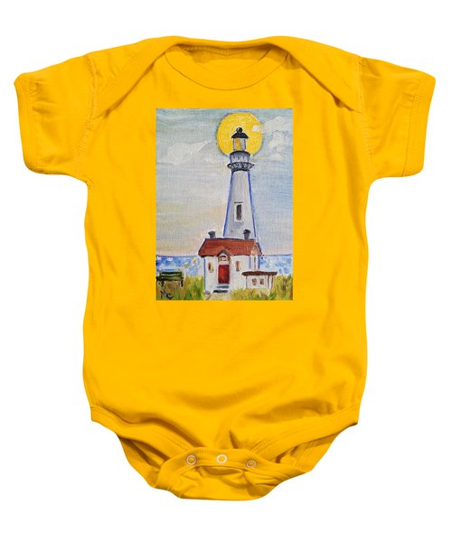 Pigeon Point Lighthouse  Baby Onesie